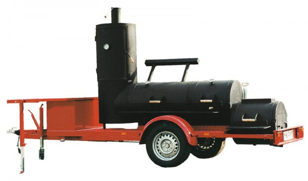 "Joe´s 24"" Extended Catering Smoker Trailer"