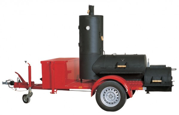 Joe´s Chuckwagen Catering Smoker Trailer