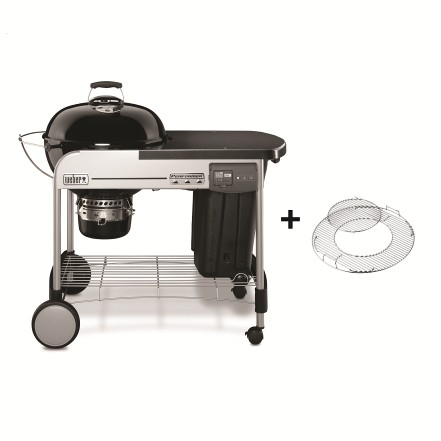 Weber Grill Performer ® Deluxe GBS™ Charcoal 57 cm, Black